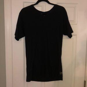 Billabong Men's Black V-Neck T-Shirt